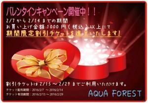 必見!バレンタインキャンペーン開催中!