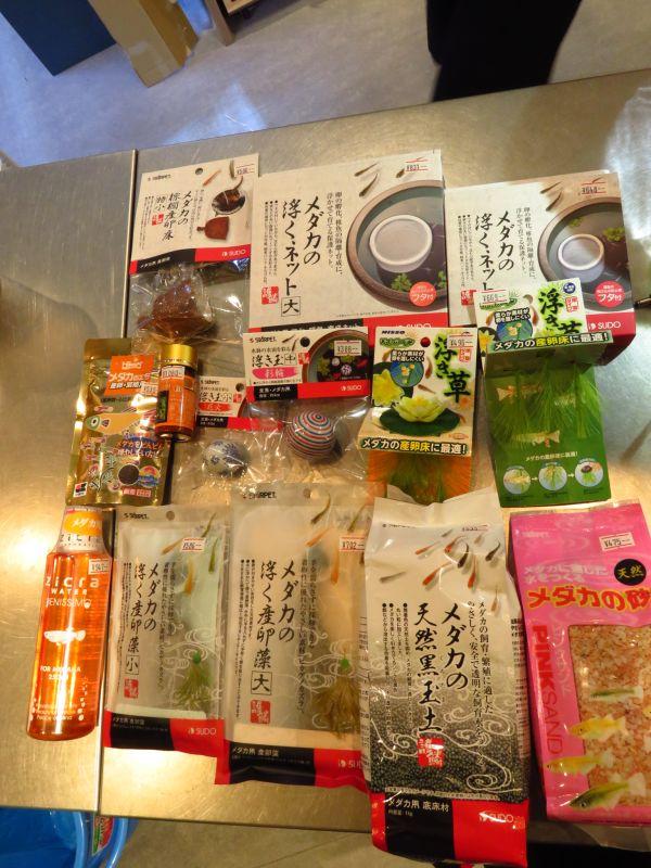 【ソラマチ店】繁殖にチャレンジ!メダカ関連商品ご紹介!&久々!キラウエアの水入荷!