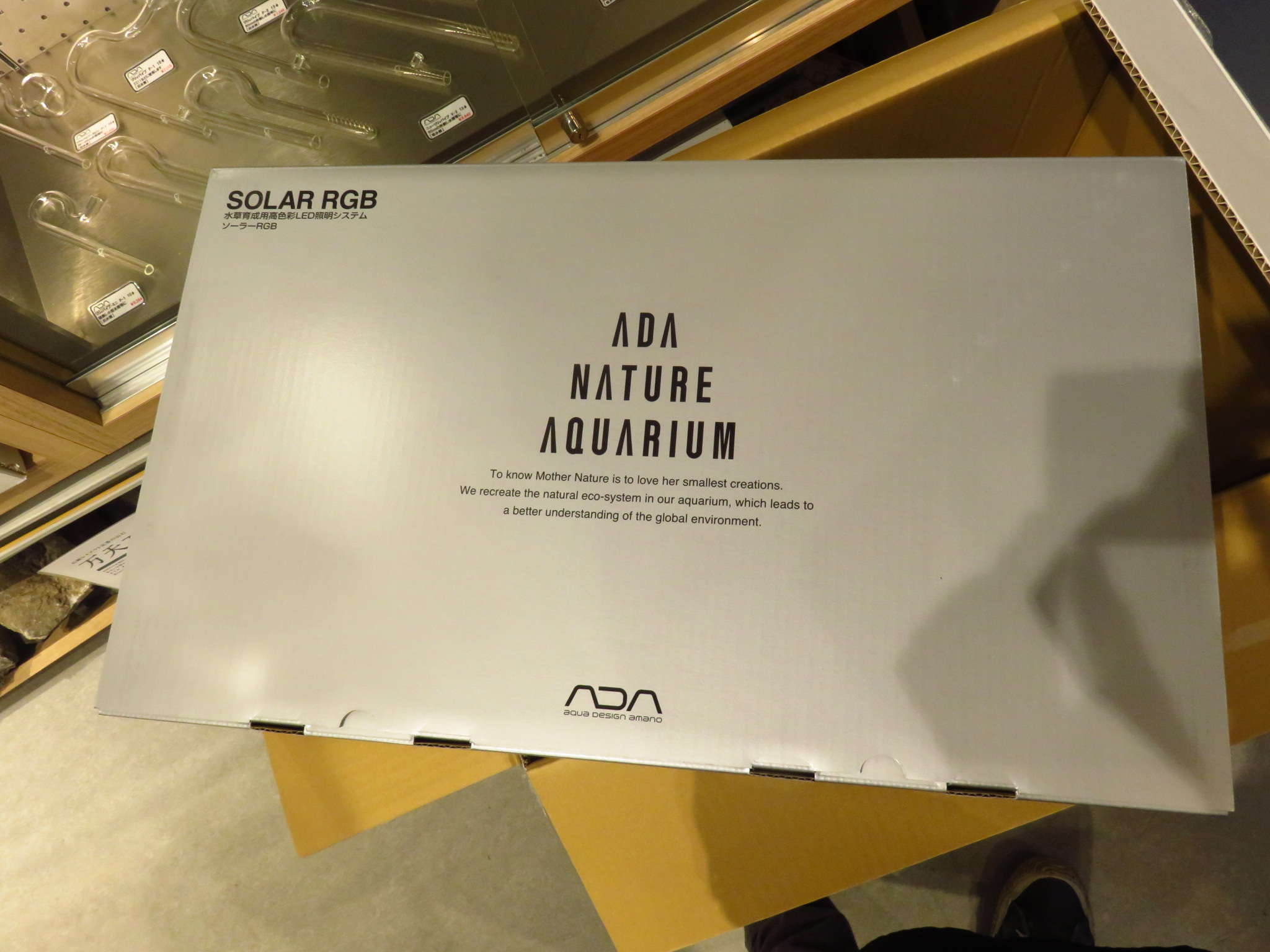 【ソラマチ店】ADA新商品、ソーラーRGB入荷致しました!