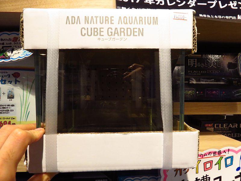 【ソラマチ店】キューブガーデン W20xD20xH20cm & 小型水槽向け製品ご紹介!
