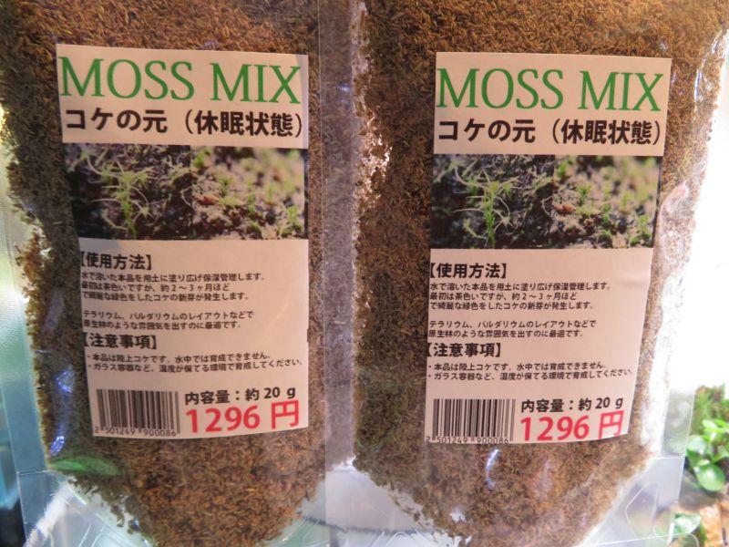 【新宿店】隠しているけど売れるかな?(笑)MOSS MIXの巻!