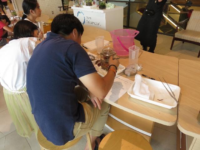 【ソラマチ店】8月第1回目森の寺子屋、無事終了しました!