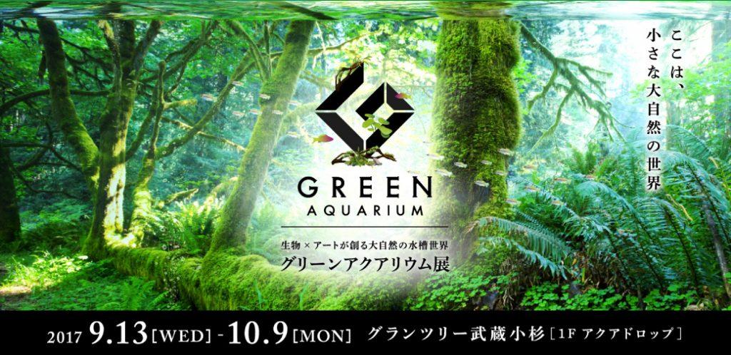 【新宿店】グリーンアクアリウム展開催のお知らせ!9/13~