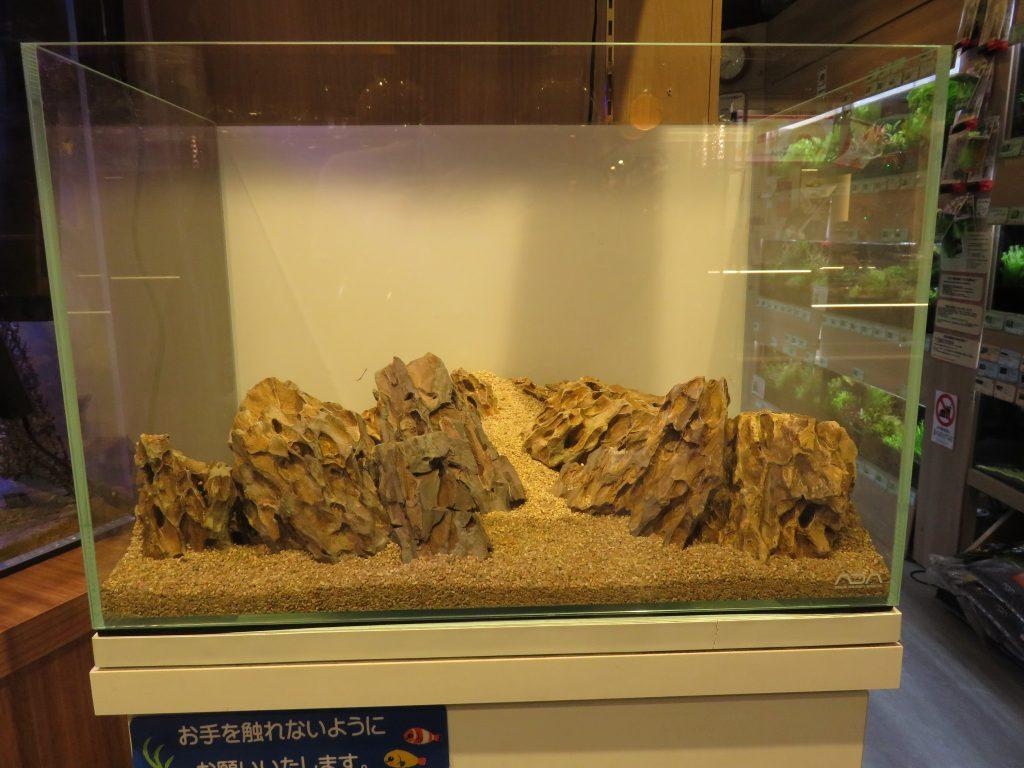 【ソラマチ店】45cm水槽リセット!