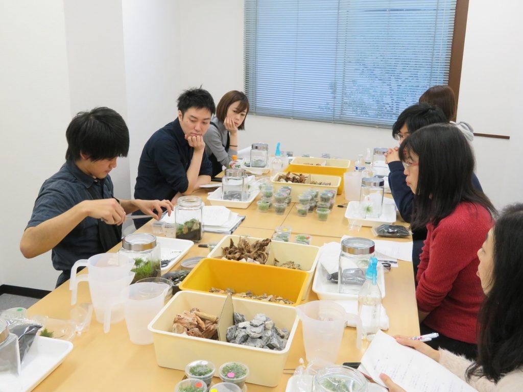【新宿店】森の寺子屋「コケリウムを作ってみよう」は終了しました。