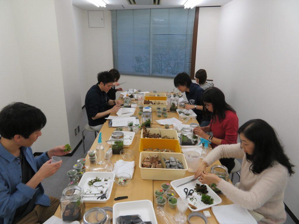 【新宿店】森の寺子屋「コケリウムを作ってみよう!!」レポート