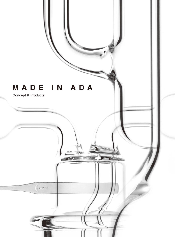 【新宿店】ADAプロダクトブック「MADE IN ADA Concept & Products」発売!