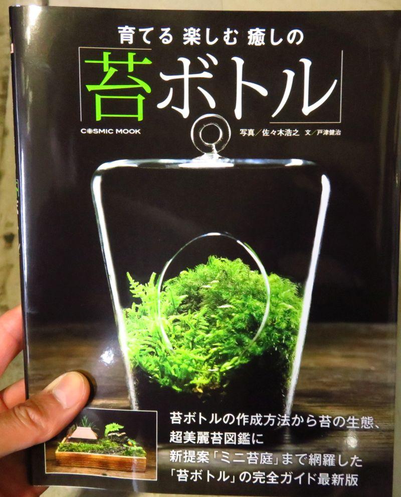 【新宿店】書籍「コケボトル」入荷しました。