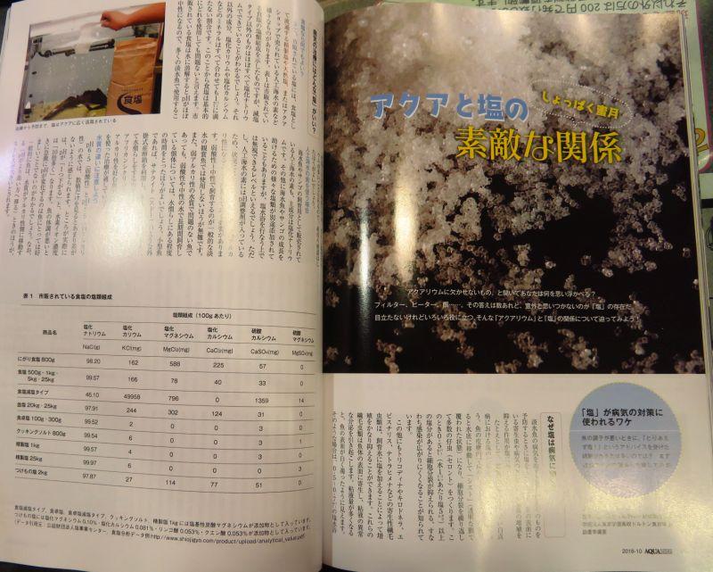 【新宿店】10月号のアクアライフ2冊追加いたしました!