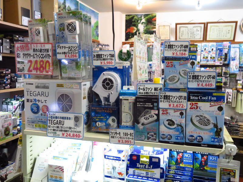 【新宿店】冷却ファンコーナーを作りました!&TX60入荷!