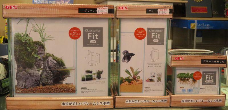 【新宿店】GEX社 グラステリアフィット200の取り扱い開始