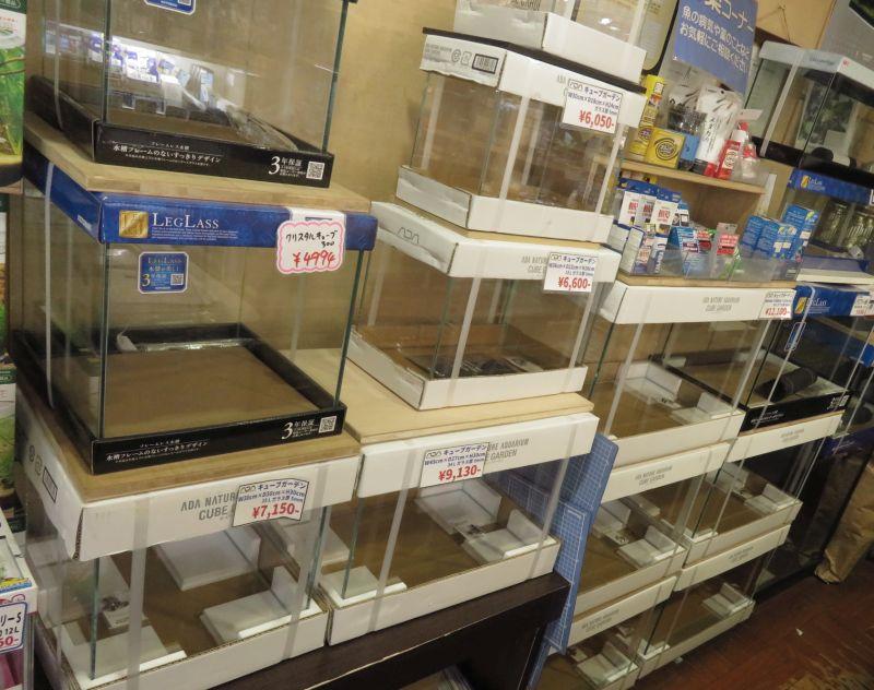 【新宿店】欠品していたADA水槽入荷しています