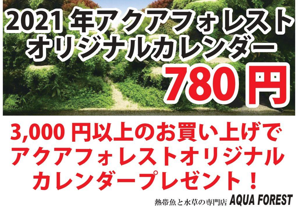 【新宿店】【ソラマチ店】2021年カレンダープレゼントキャンペーン!
