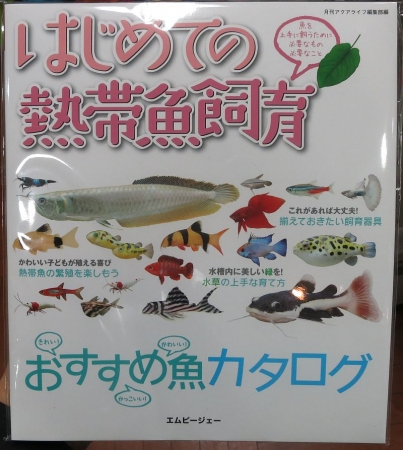 「はじめての熱帯魚飼育」発売!